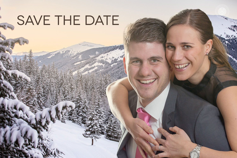 Save the Date Karten zur Hochzeit